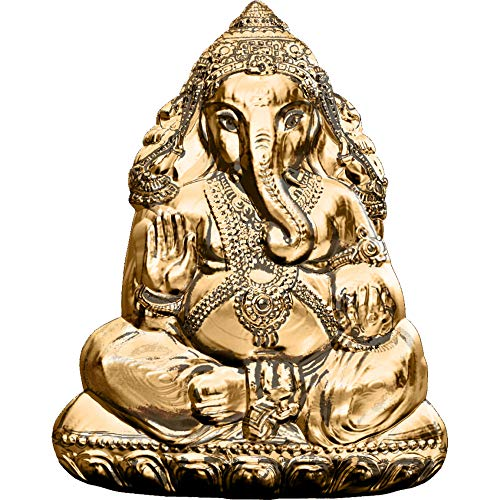 Coin Shaped Silver (2019 CK Modern Commemorative PowerCoin LORD GANESHA Shaped 3 Oz Silver Coin 20$ Cook Islands 2019 BU Brilliant Uncirculated)