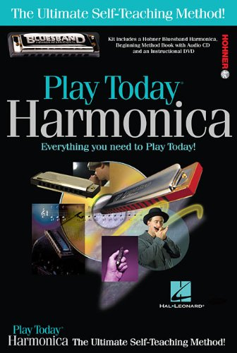 Harmonica Book Method Video - Play Harmonica Today! Complete Kit: Includes Everything You Need to Play Today! (Play Today!, Level 1)