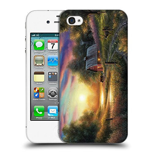 The Evening Routine Cabin Hard Back Case for Apple iPhone 4 / 4S