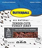Butterball All Natural Tender Cuts Turkey Jerky 2.85oz (Cracked Black Pepper, 4 Bags) Review