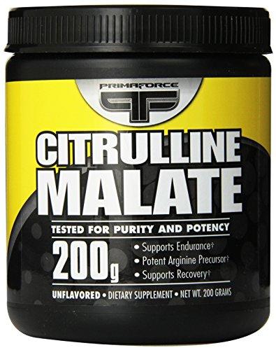 Malate de PrimaForce Citrulline, 200 grammes