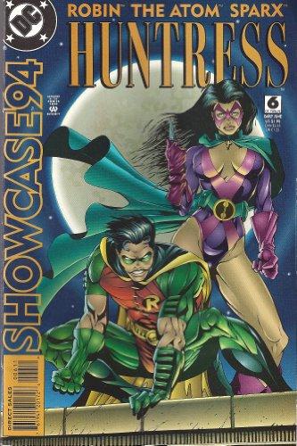 - Dc Comics Robin the Atom Sparx Huntress No.6 (SHOWCASE 94)