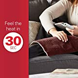 Sunbeam Heating Pad for Fast Pain Relie