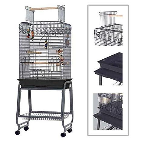 Sun Cages Jaula MAX para Loros 154 x 43 x 56 cm: Amazon.es ...