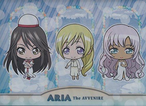 ARIA The AVVENIRE Clear File Blue (Akira & Alicia & Athena)