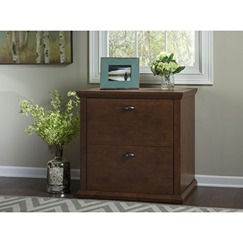 Yorktown Lateral File Cabinet in Antique Cherry