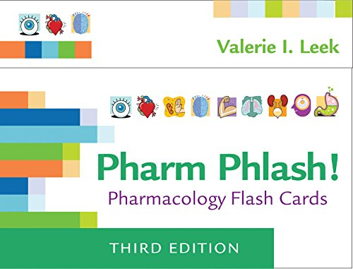 Pharm Phlash!: Pharmacology Flash Cards cover