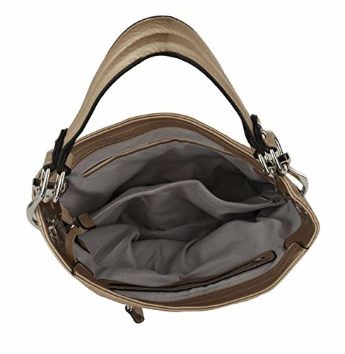 Vegan Leather Mia Nude K Handbag Collection Soft MKF Farrow Emily Hobo by POq0WgE78