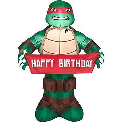 Teenage Mutant Ninja Turtles 3.5FT Tall Raphael Happy ...