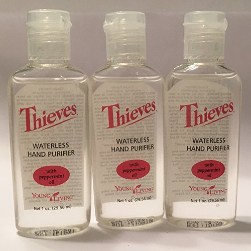 Thieves Hand Purifier by Young Living - 3 pack, 1 fl. oz. ea