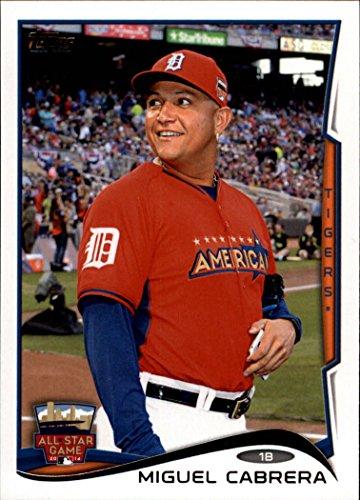 Miguel Cabrera Games (2014 Topps Update Baseball Card #US53 Miguel Cabrera NM-MT)