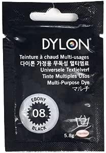 Panini Telti Dylon MPD Multi Purpose Dye - Bolsas de 5 gr (Ebony Black 08)
