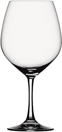 Spiegelau Vino Grande Vino Tinto-Balón, Set de 4, Vaso Vino Tinto, Copa de Vino, Cristal, 710 ml, 4510270