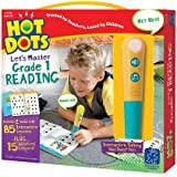 Educational Insights Hot Dots Let's Master 1st Grade Reading Set, Homeschool & School Readiness, 2 Books & Interactive Pen, 100 Math Lessons, Ages 6+