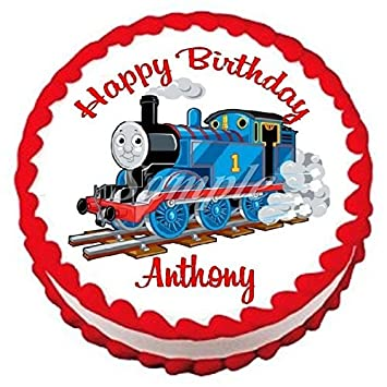 Amazoncom Thomas The Train Edible Frosting Sheet Cake Topper 75
