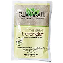 Taliah Waajid The Great Detangler Leave-in Conditioner and Co-Wash, 2 Ounce (2 Pack)