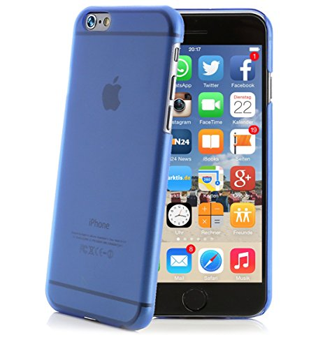 ArktisPRO Hülle Original Premium Hardcase für Apple iPhone 6 blau
