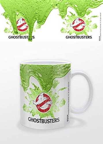 Ghostbusters Gozer Costume - Ghostbusters Slime Supernatural Comedy Film Movie No Ghosts Logo Coffee Mug