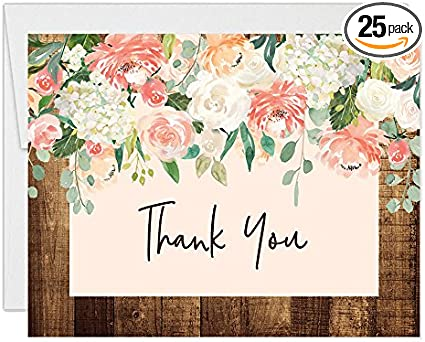 Personalised Rustic Floral Adult Birthday Party Invitations /& Thank You Cards
