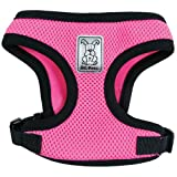 RC Pet Products Cirque Soft Walking  10 to 20-Pound Dog Harness, Small, Pink, My Pet Supplies