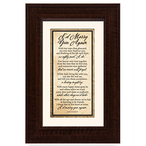 James Lawrence I'd Marry You Again Framed Art (The Word Of The Lord By Donald Lawrence)