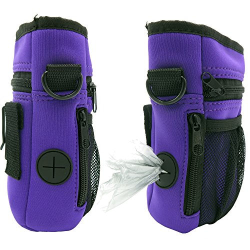 Treat Pouch Dog Training Bag Multi-Purpose with Adjustable Over the Shoulder Strap (Light Treats)