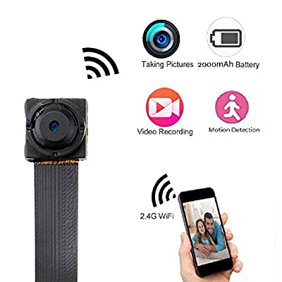 SpyGear-WIFI Spy Camera, Mini Wireless HD 1080P Nanny Cam Home Security Hidden Camera with Motion Detection - MAGENDARA