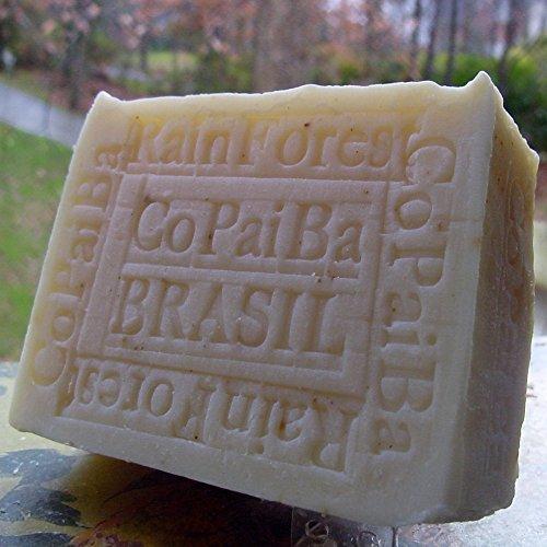 Handcrafted Soap Brazilian Rain Forest Copaiba Milled Soap w
