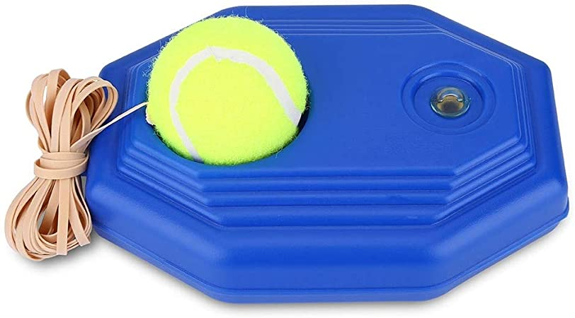 REGAIL Tennisball mit Schnur Tennistrainer Anfänger Rebound Tennistraining Q1Q8
