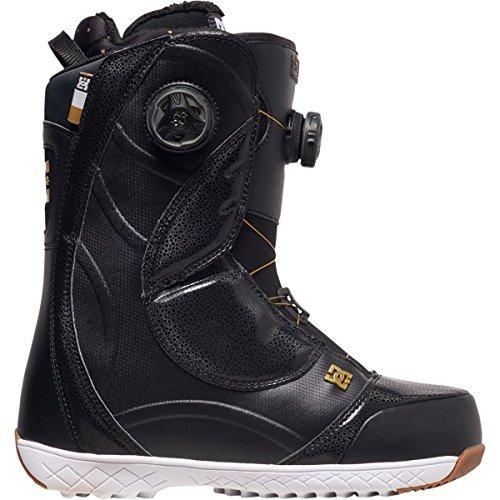 DC Mora Snowboard Boots, Size 7.5, Black/Gold