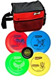 Innova Disc Golf Set with 4 Discs Starter Disc Golf Bag - DX Distance Driver, Fairway Driver, Mid-Range, Putter and Mini Marker Disc
