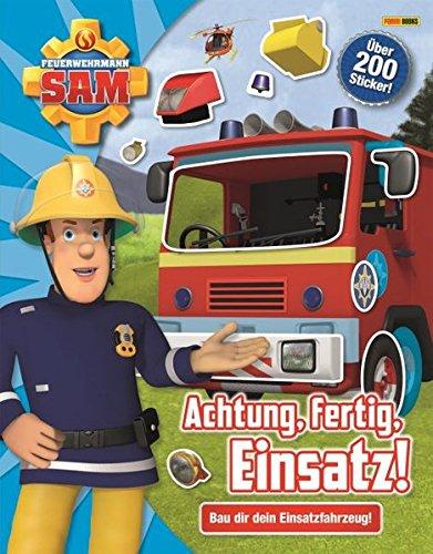 Feuerwehrmann Sam: Achtung, fertig, Einsatz!: Bau dir dein Einsatzfahrzeug!