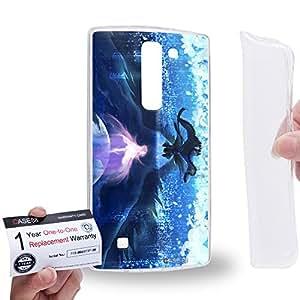 Case88 [LG G4 Mini (G4c)] Gel TPU Carcasa/Funda & Tarjeta de garantía - Puella Magi Madoka Magica Madoka Madoka Kaname & Homura Akemi 1063