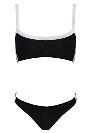 Bain Plage World Le Taille De Bikini Haute Sport Maillot Femme wOqxF7S