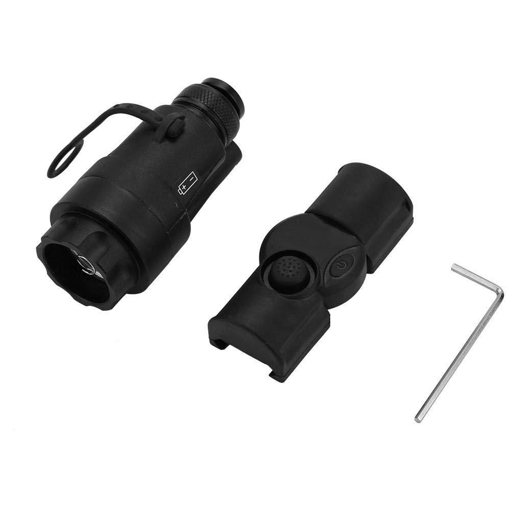 Alomejor Tactical Flashlight Remote Pressostat Interrupteur de télécommande sans Fil Tail Cap pour M951 / M952 Arme Lampe de Poche
