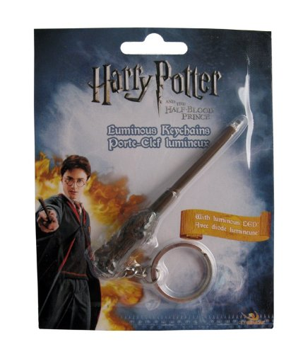 Harry Potter Luminous Wand Keychain