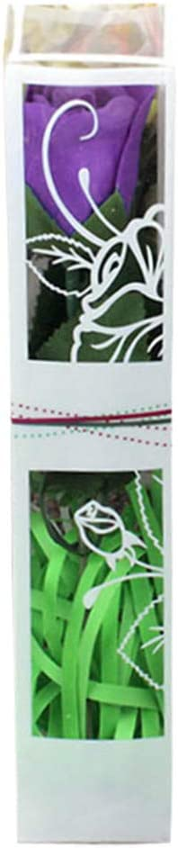 Red UKtrade Travel Portable Rose Soap Hand Sanitizer Anti-Bacteria Moisturizing Flower-Scented Rose Soap Present