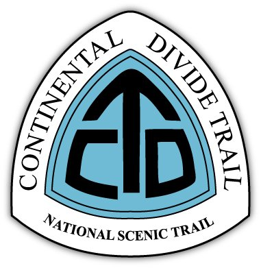 "Continental Divide Trail National Scenic Trail sticker decal 4"" x 4"""