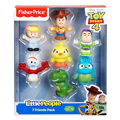 51sPOlgtyRL - Toy Story Disney 4, 7 Friends Pack by Little People