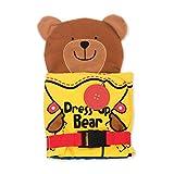 Melissa & Doug Soft Activity Baby Book - Dress Up Bear
