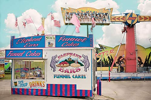 Home Comforts Canvas Print Carnival Fair Concession Stand Summer County Fair Vivid Imagery Stretched Canvas 32 x ()