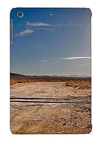 Crazylove Case Cover Railroad Crossing In The Desert / Fashionable Case For Ipad Mini/mini 2