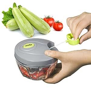 Homepuff mini licuadora manual tirando cortador de verduras mezcladores picadora de alimentos - Picadora alimentos ...
