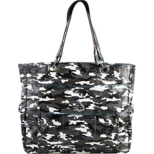 Urban Junket Korri Laptop Carry-All (Grey Camouflage) by Urban Junket