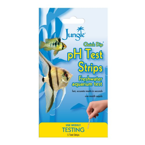 (Jungle Quick Dip pH Freshwater Testing Strips, 5 count)