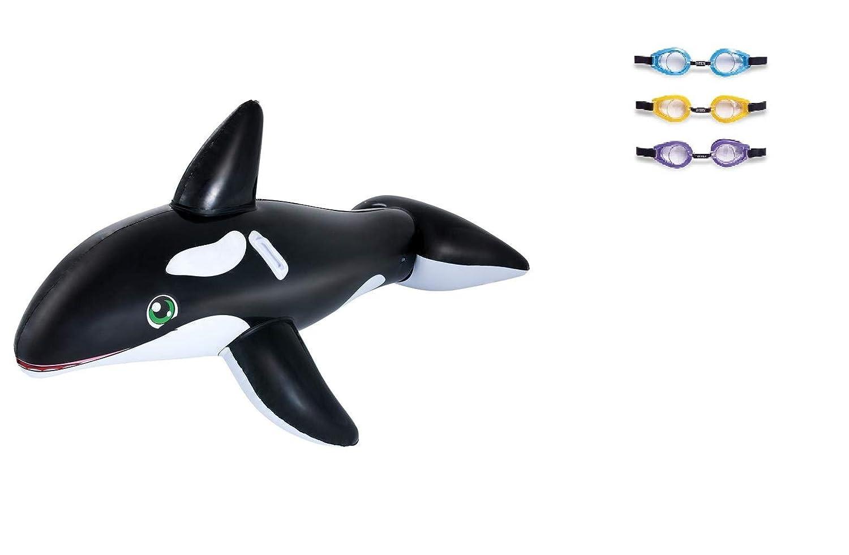 Equitación Animales de baño Animales ballena. - Ballena inflable ...