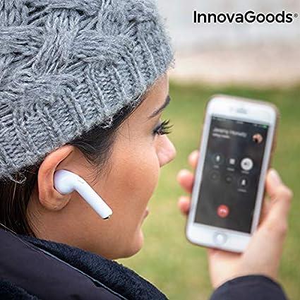 InnovaGoods Ig813932 Auriculares Inalámbricos Smartpods
