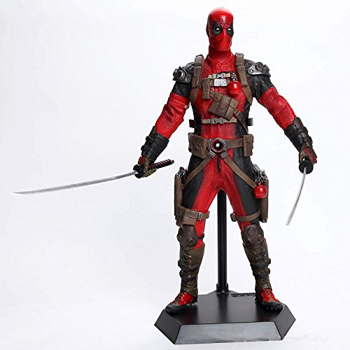 "Crazy Toys 1:6 Scale Deadpool Statue Collectible Figure 11.2"" Tall"