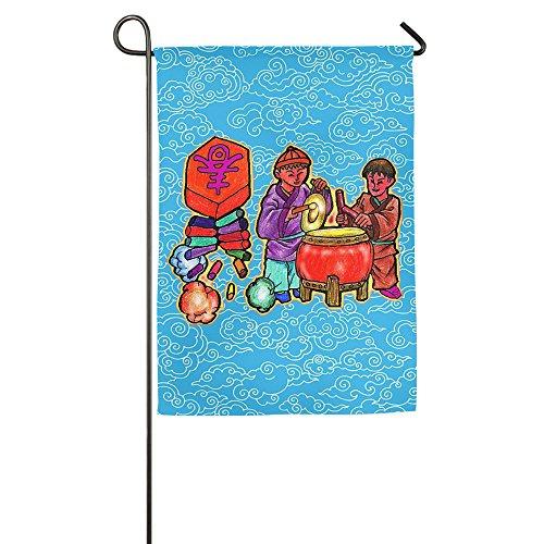 CMWPWANOF Chinese Spring Festival Home Garden Cabin Decorative Flag Trends Family Bar Banner 1827inch