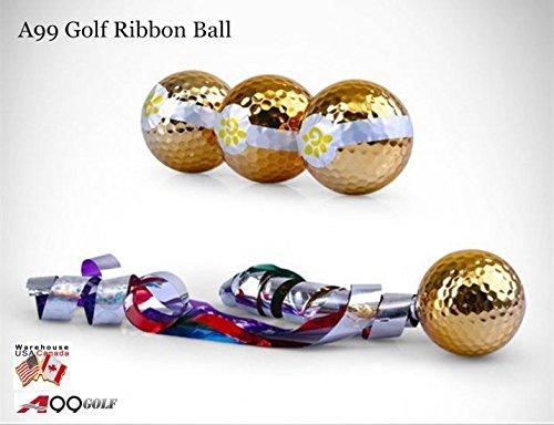 6pcs/pack A99 Golf Ribbon Balls Jetstreamer Gift Set ()